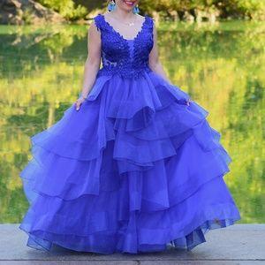 Ellie Wilde Prom dress Worn Once Size 6